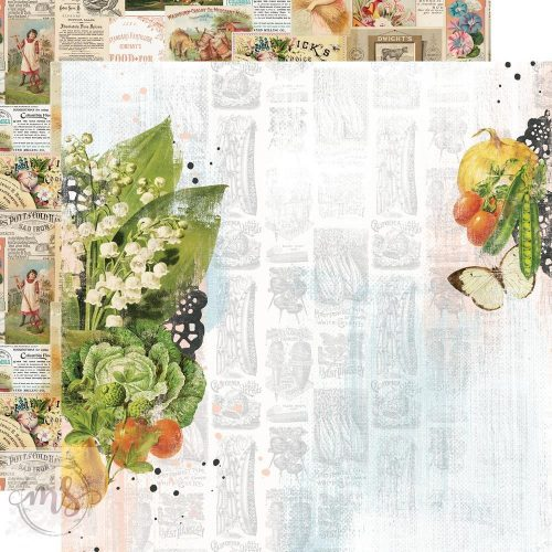Scrapbook papír - Simple Stories - Simple Vintage Farmhouse Garden - The Sweet Life (1ív)