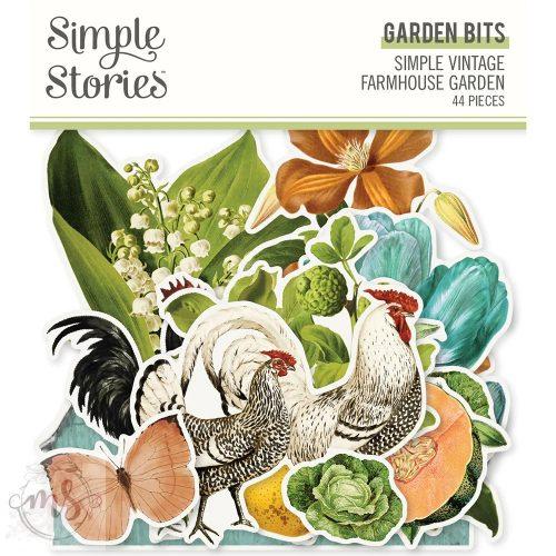 Papírkivágatok - Simple Stories - Simple Vintage Farmhouse Garden - Garden Bits