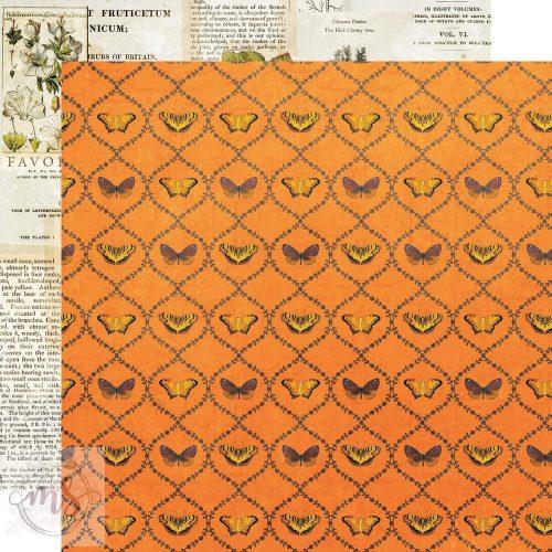 Scrapbook papír - Simple Stories - Simple Vintage Country Harvest - Nature's Wonder (1ív)
