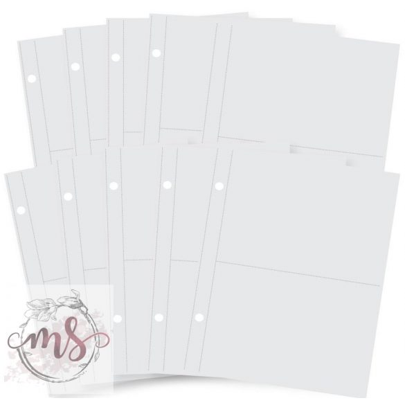 Albumtasak - Simple Stories SN@P! - Pocket Page Refills - 4x6 Inch
