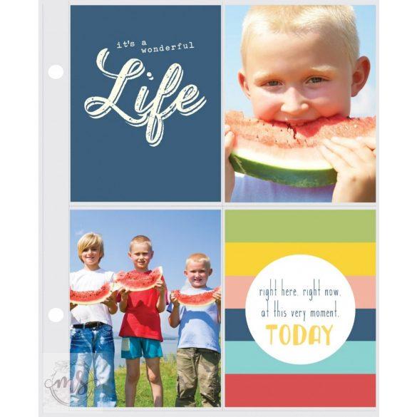 Albumtasak - Simple Stories SN@P! - Pocket Page Refills - 3x4 Inch