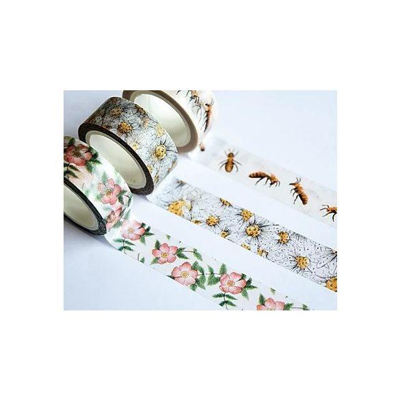 Dekortapasz  - Washi Tape / At home in the Wildflowers  3db