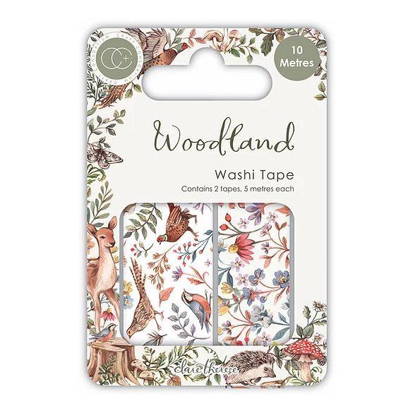 Dekortapasz - Washi Tape - Woodland  (2db)