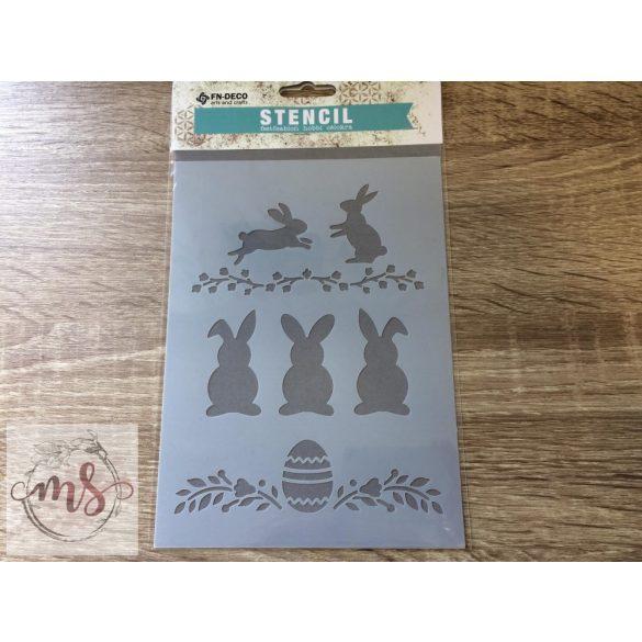 Stencil - Húsvét