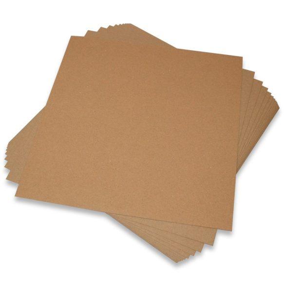 Kreatív karton  - Kraft - A4 (1ív)